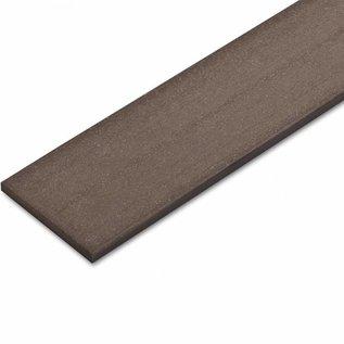 Tecos Terras decking, Plint, Chocolate brown