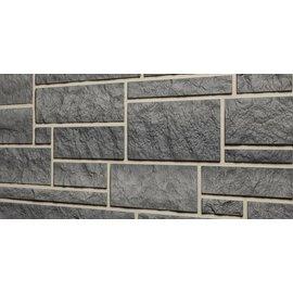 Tecos 1 doos (10 panelen) Ardense steenpaneel, Graniet grijs
