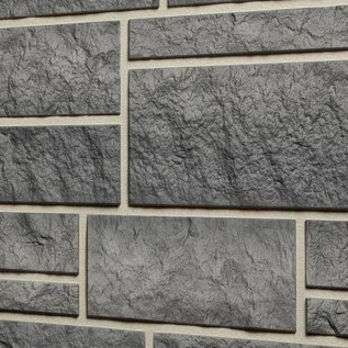Tecos Ardense steenpaneel, Graniet grijs