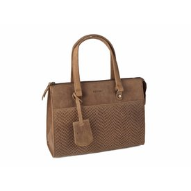 Burkely Leren handtas Flow Fem Bag S