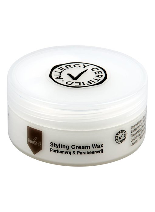PureSenZ Styling Cream Wax Parfumvrije haarwax