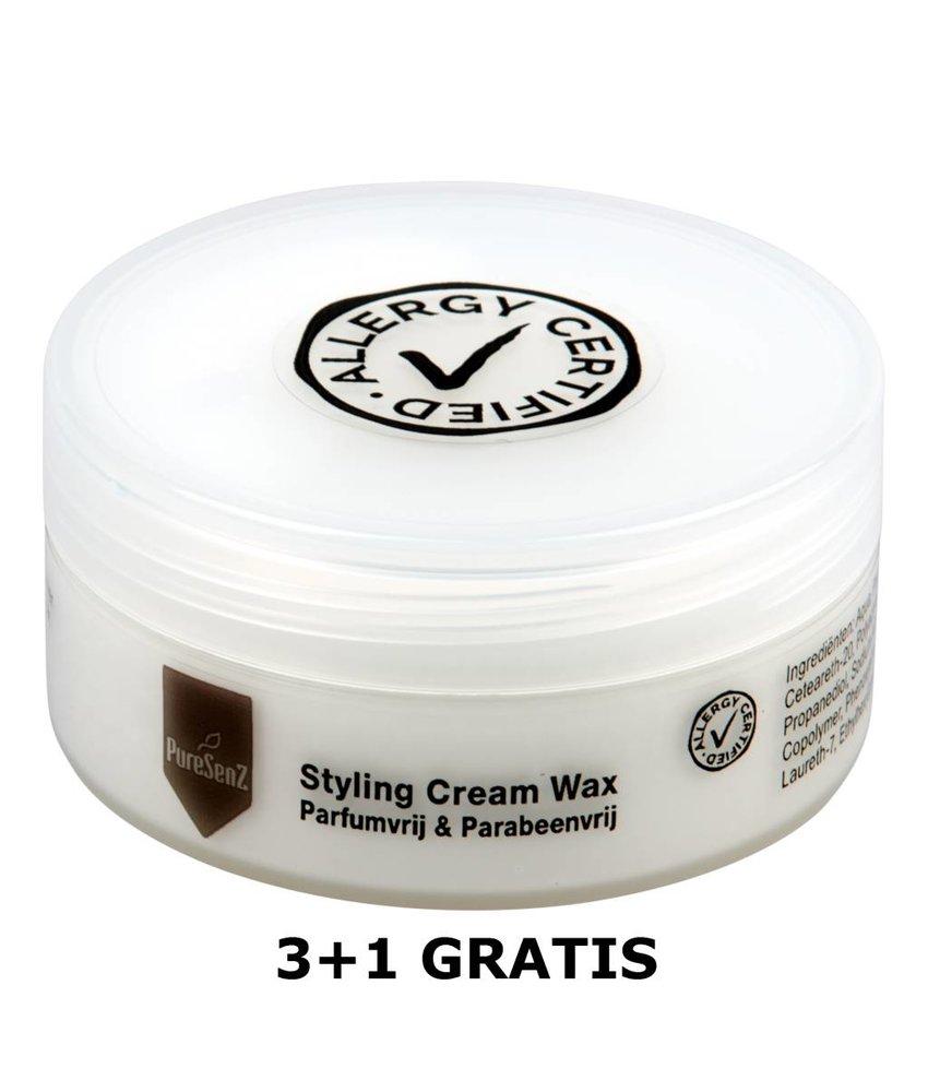 PureSenZ Styling Cream Wax 3+1 gratis Haarwax zonder parfum