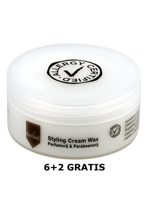 PureSenZ Styling Cream Wax 6+2 gratis