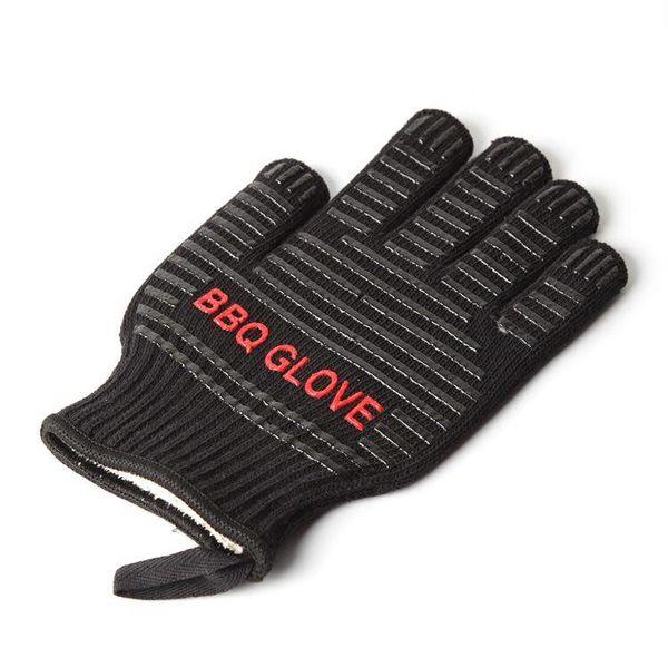 Hittebestendige barbecue handschoenen