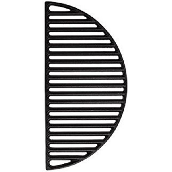 KamadoBBQ Gietijzeren Grillrooster - half rond - XXL 55 cm