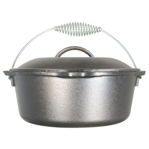 Lodge - Dutch Oven - L8DO3 - 4,7 liter - met Beugelhandgreep