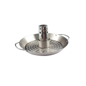 Keij Kamado® Chickensitter met grillmand - rvs