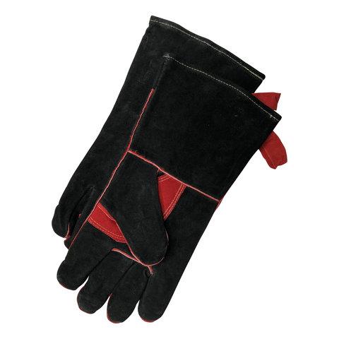 Hittebestendige barbecue handschoenen - leer