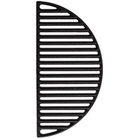 Gietijzeren Grillrooster - half rond - Large 44,5 cm