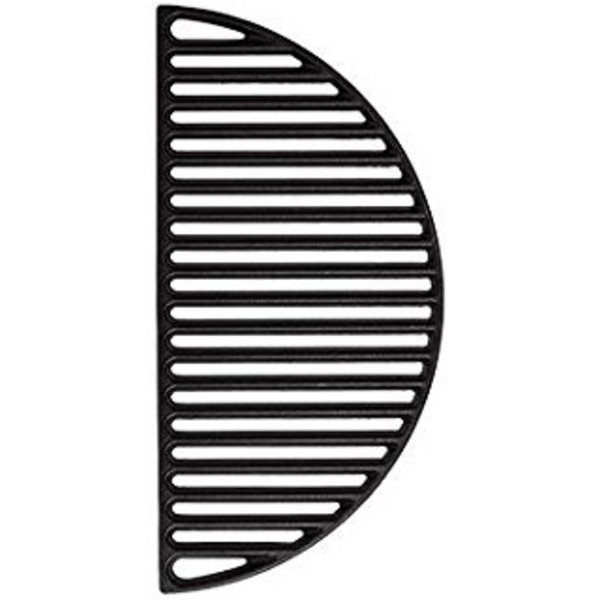 KamadoBBQ Gietijzeren Grillrooster - half rond - Large 44,5 cm