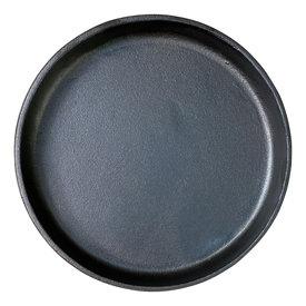 Gietijzeren ronde steakplate - 20,5 cm