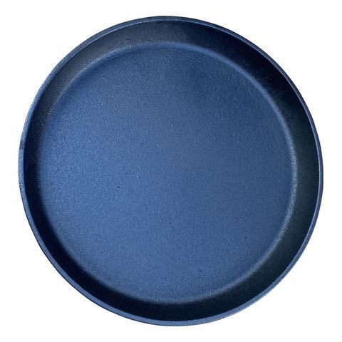 Gietijzeren ronde steakplate - 25 cm