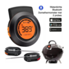 Bluetooth Dome thermometer met 2 probes - waterdicht