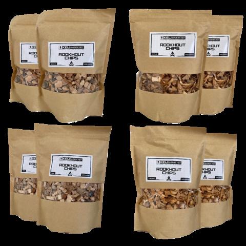 Combipakket  Rookhout Chips  Medium