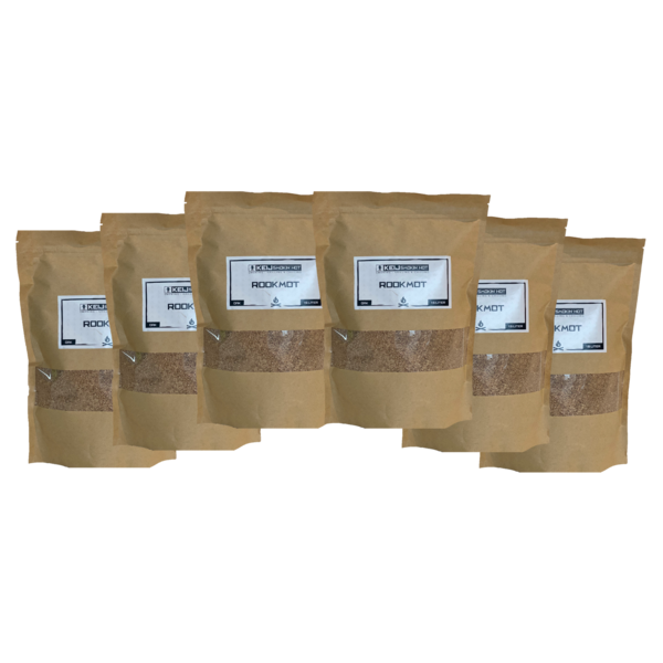 Keij Smokin' Hot Rookhout Mot Oak - 6x 1,5 liter