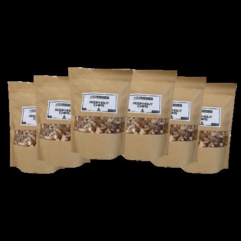 Rookhout Chips Oak - 6 x 500 gram