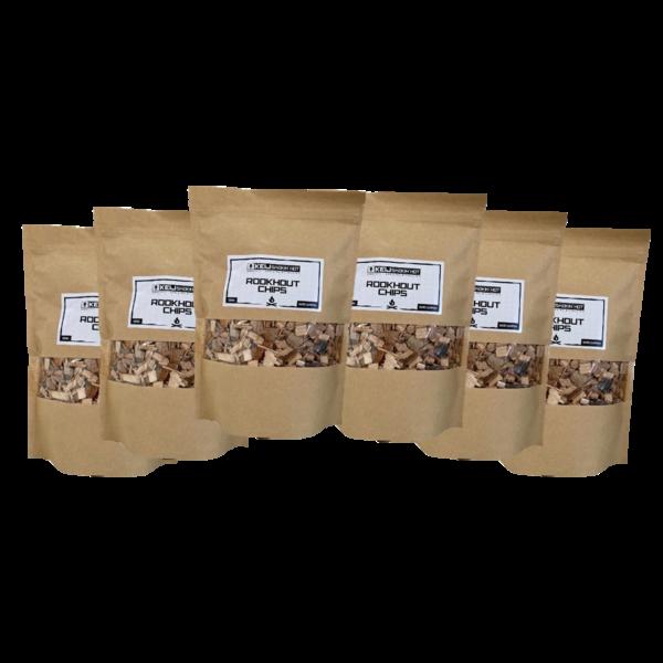 Keij Smokin' Hot Rookhout Chips Oak - 6 x 500 gram