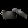 Dutch Oven - 4.5 QT - preseasoned - 4,25 liter