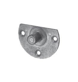 Selve Stalen bevestigingsplaat met as Ø 12 mm