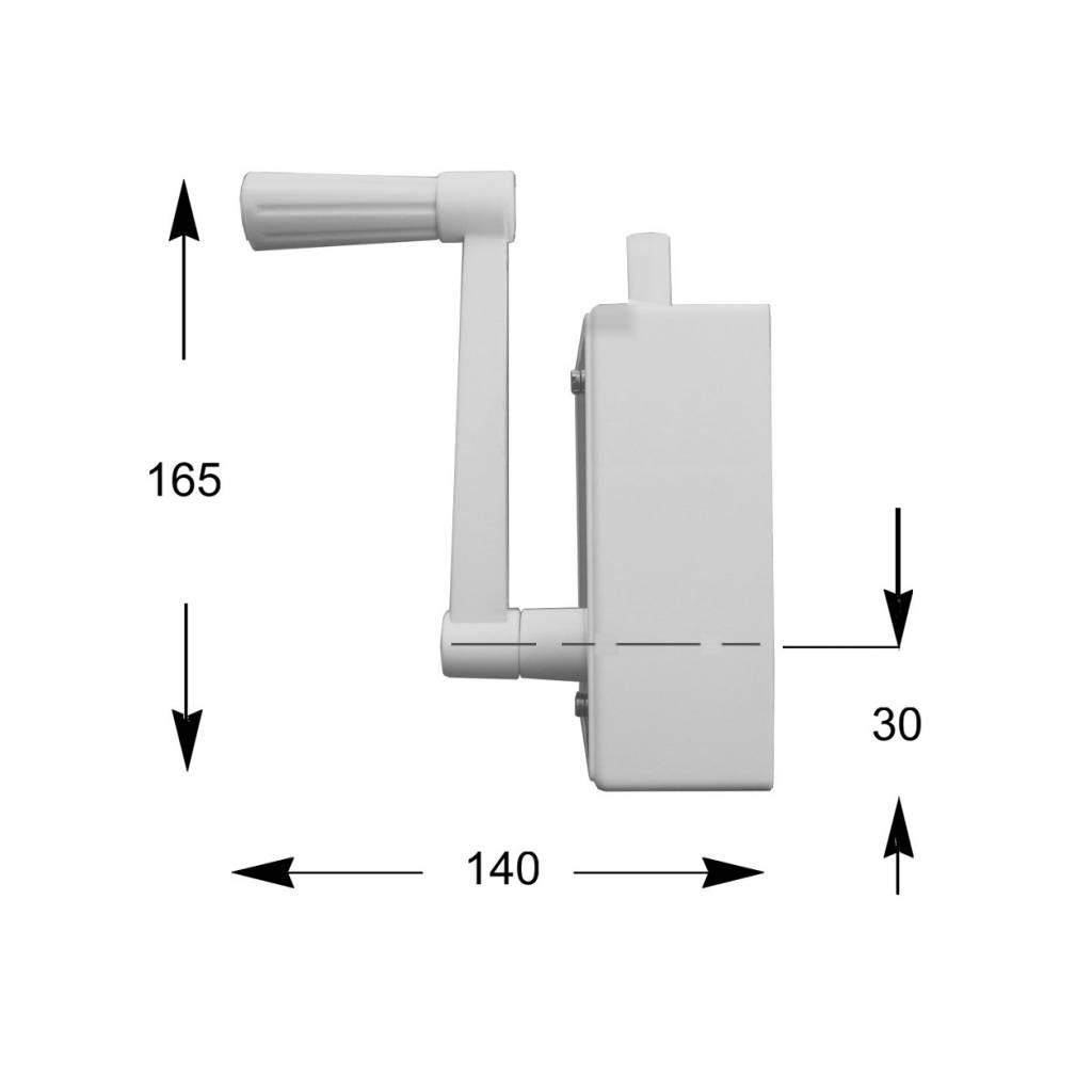 Staaldraadwindwerk 40 kg