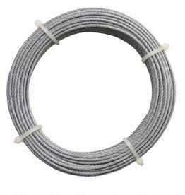 Staaldraad staal/verzinkt 2 mm