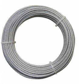 Staaldraad staal/verzinkt 3 mm