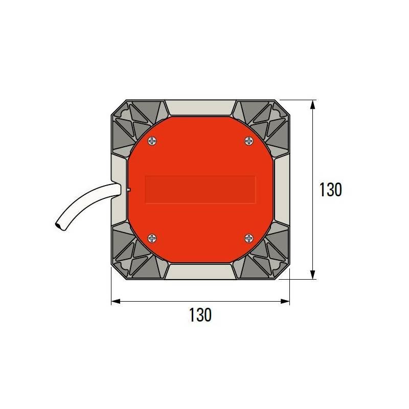 Simu T8S DMI rolluikmotor met noodhandbediening