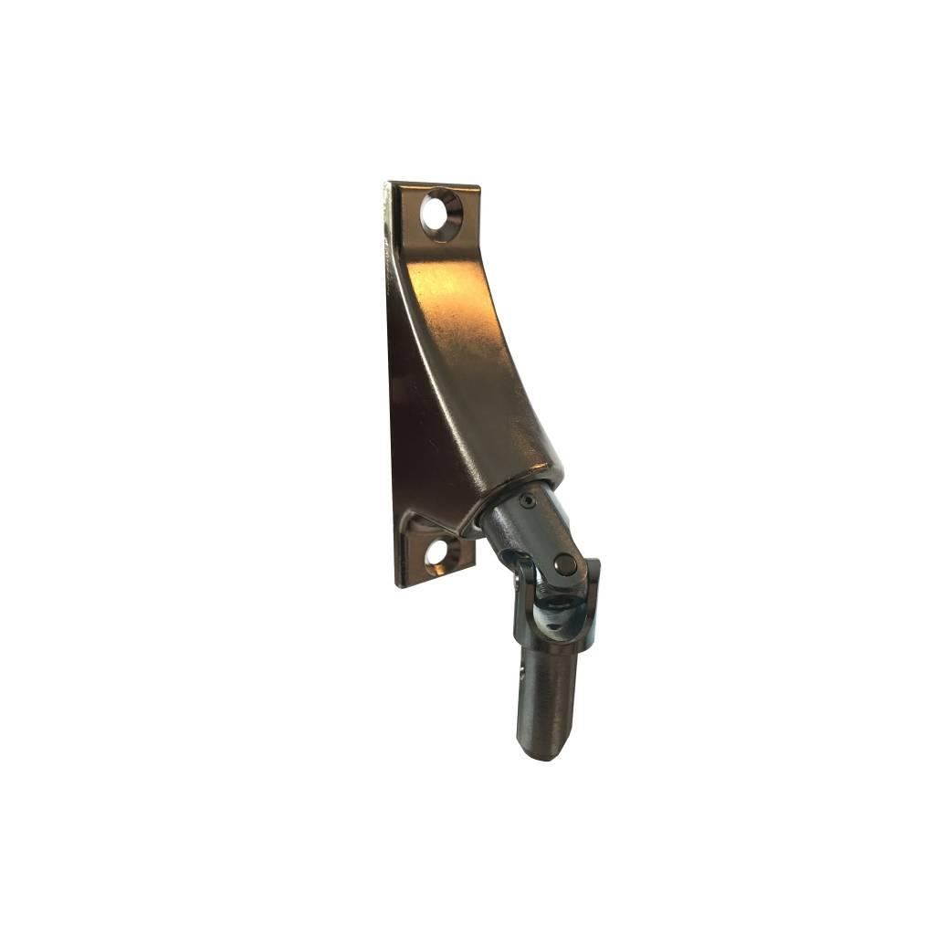 Geiger Kniekoppeling met vierkante as 6 mm