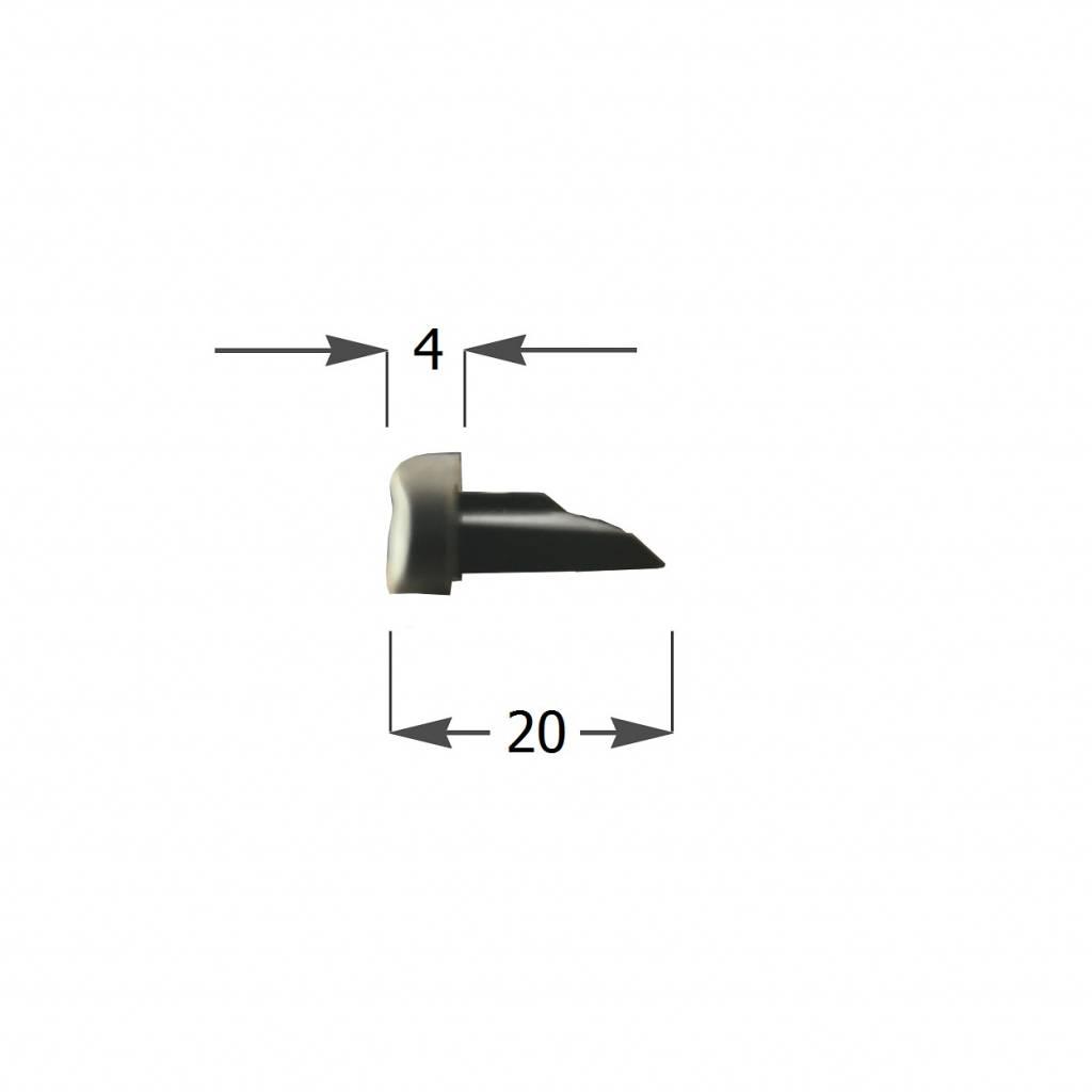 Alutech Kunststof arreteerkapje voor AR55