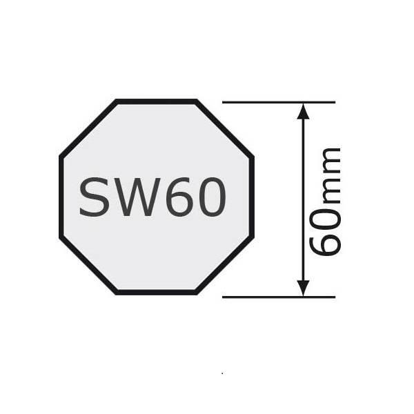 Selve Schuiflager - lagerprop verstelbaar 8k60