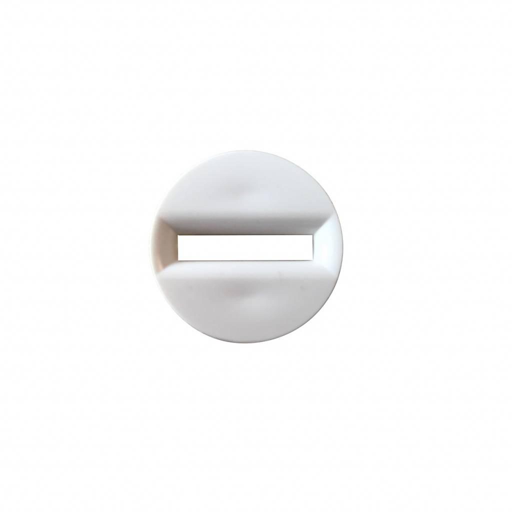 Siral Bandgeleider kunststof rond 19 mm