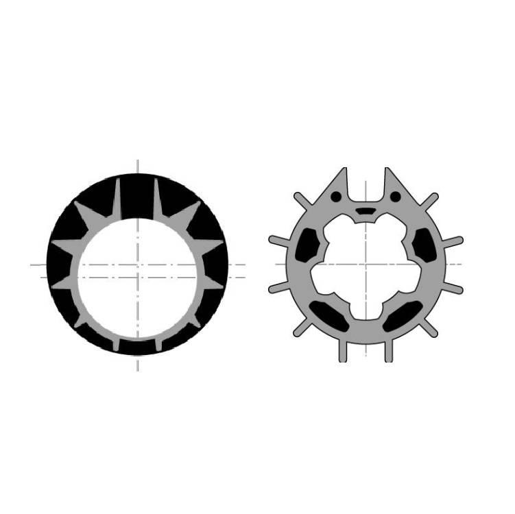 Somfy Adaptieset Ø 70x0,8 mm - LT50 en T5