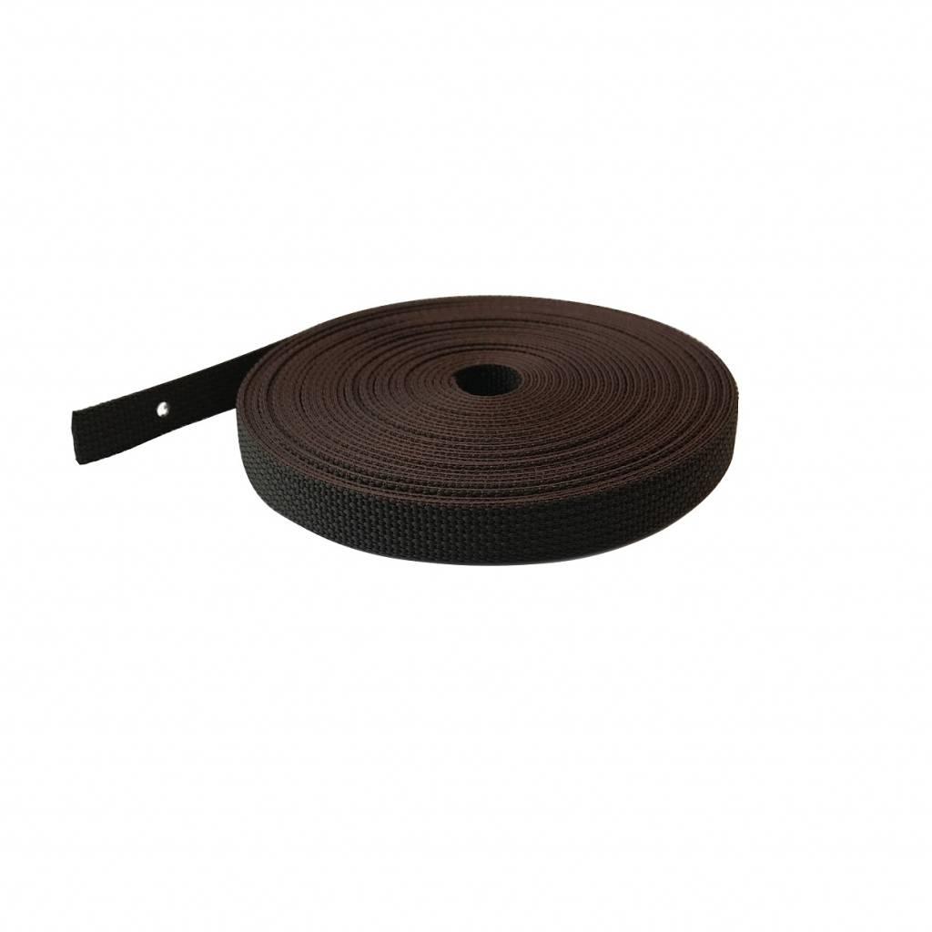 Selve Optrekband 14 mm, 11 meter in grijs, zwart/wit of bruin