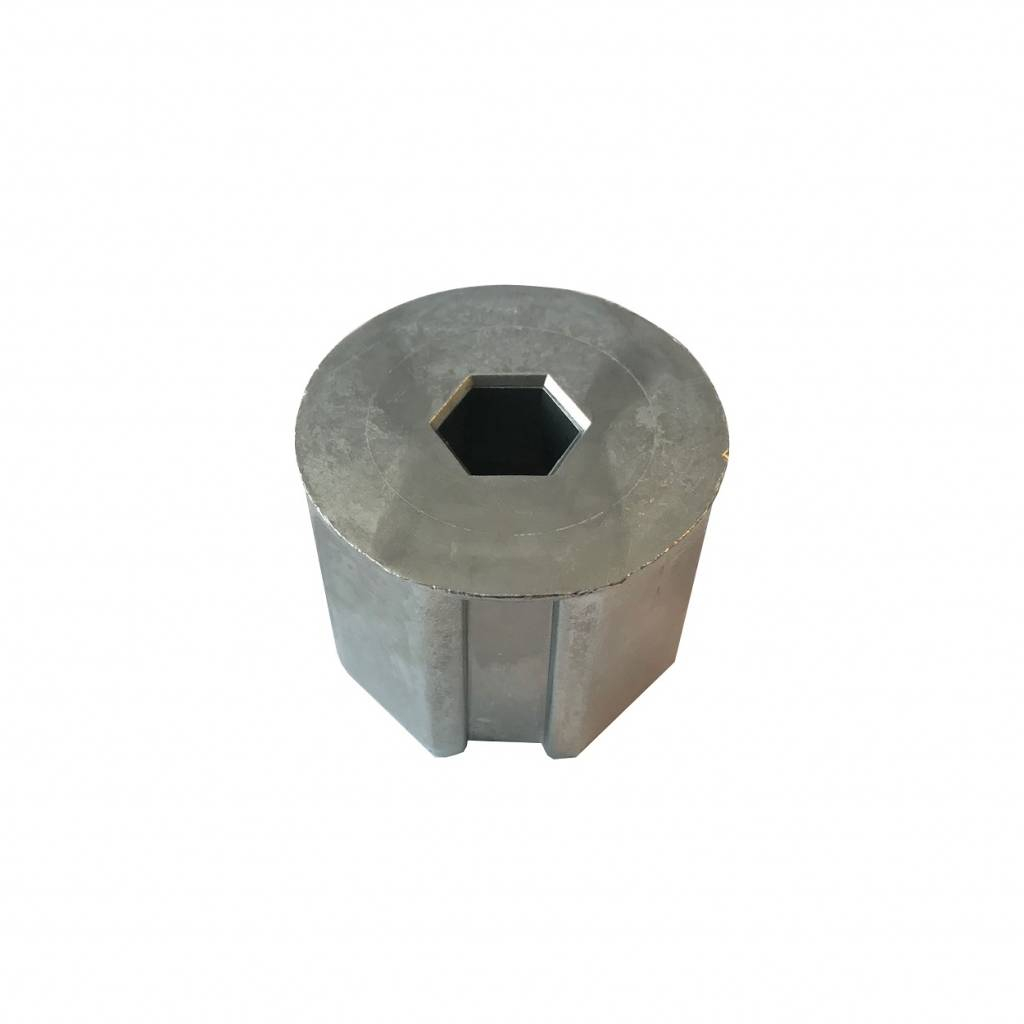 Selve Bandvertrager lagerprop 8 kant 60 aluminium