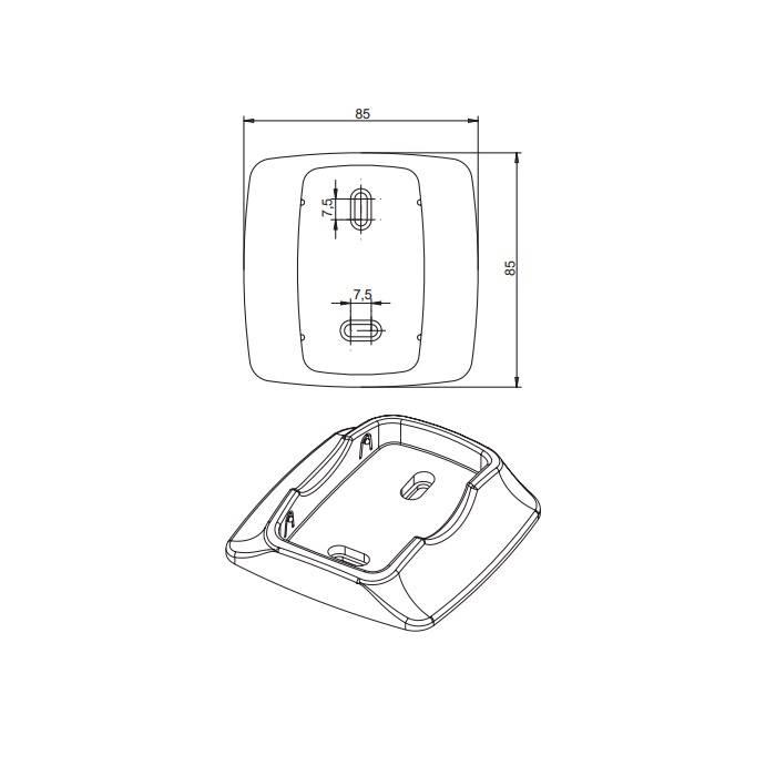 Elero SoloTel 2 - 1-kanaals handzender