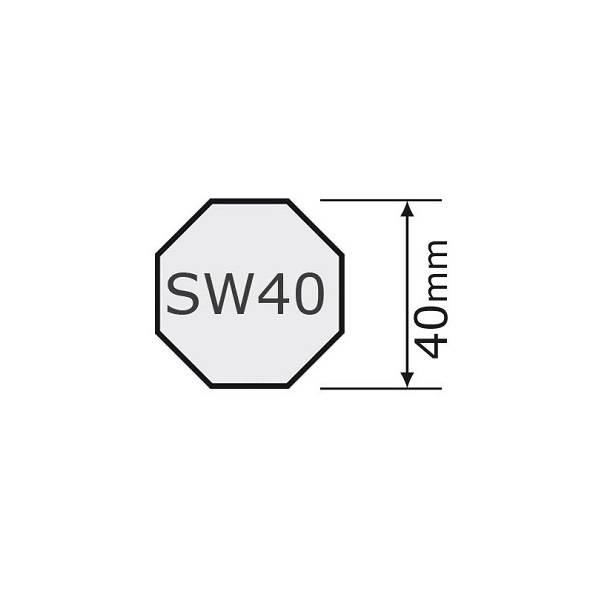 Simu Adaptieset voor as 8k40 voor Somfy LT40 & Simu T3.5