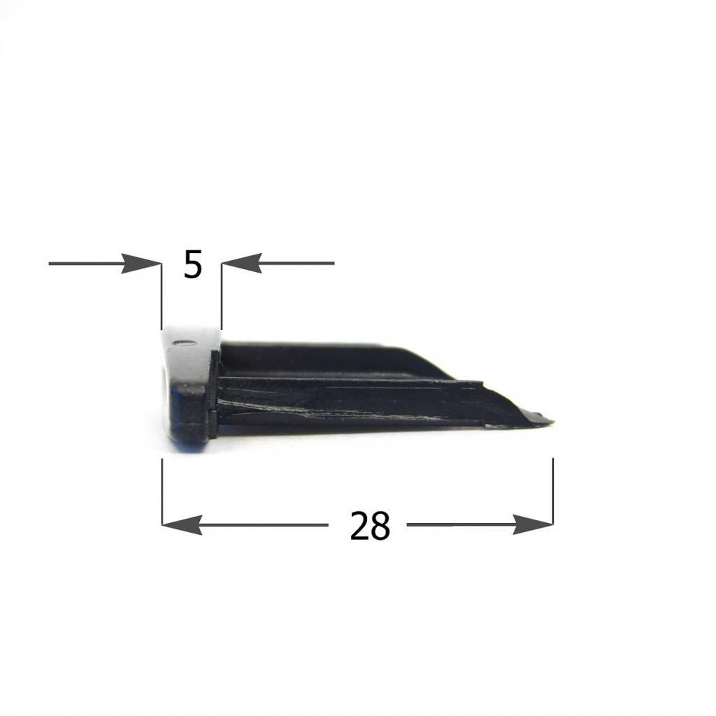 Heroal Kunststof arreteerkapje voor Heroal RS41 en RS42 (HK882)
