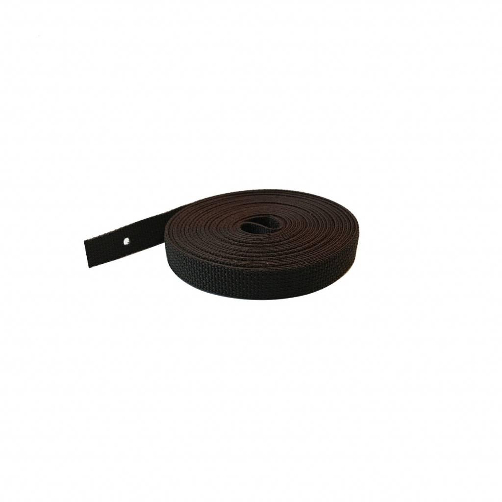 Selve Optrekband 14 mm, 5 meter in grijs, zwart/wit of bruin