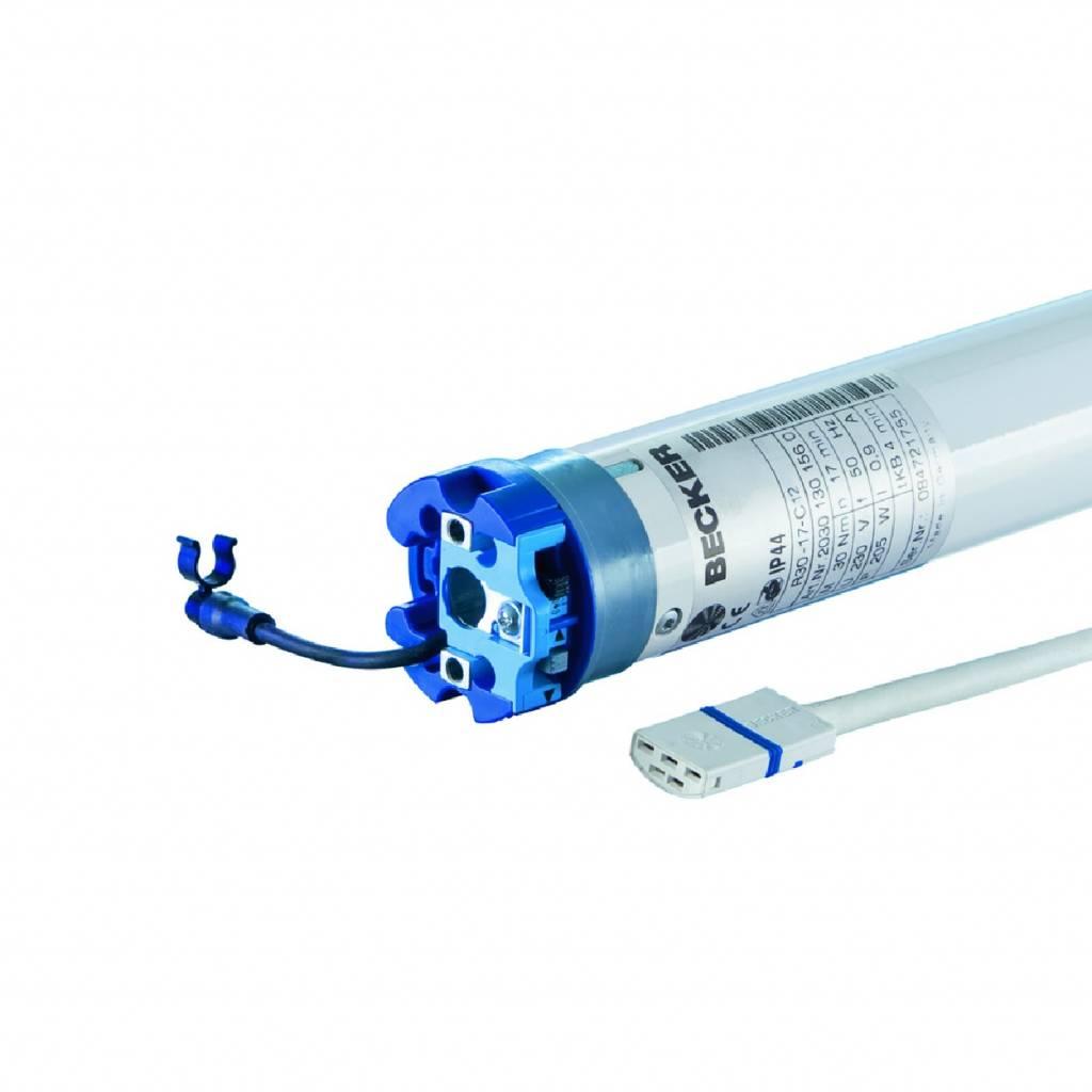 Becker Zonweringmotor R..-..C12 met elektronische eindafstelling en geïntegreerde ontvanger