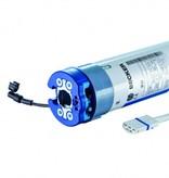Becker Zonweringmotor L..-..C12 met elektronische eindafstelling en geïntegreerde ontvanger