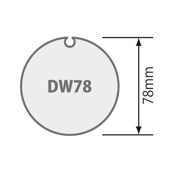 Somfy Adaptieset Ø 78 mm met doekgleuf - LT60 en T6