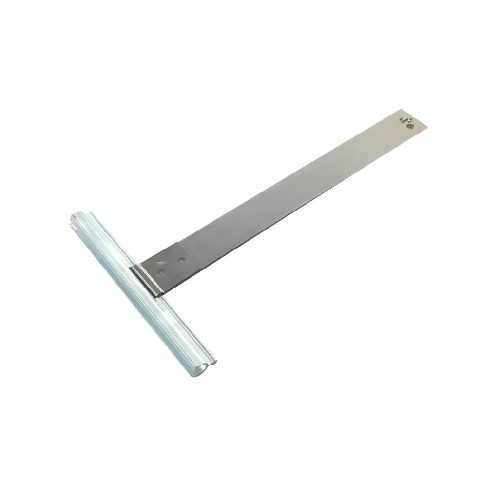Siral Ophangveer rolluik, lengte 171 mm, mini-E profiel, stevige borgclip
