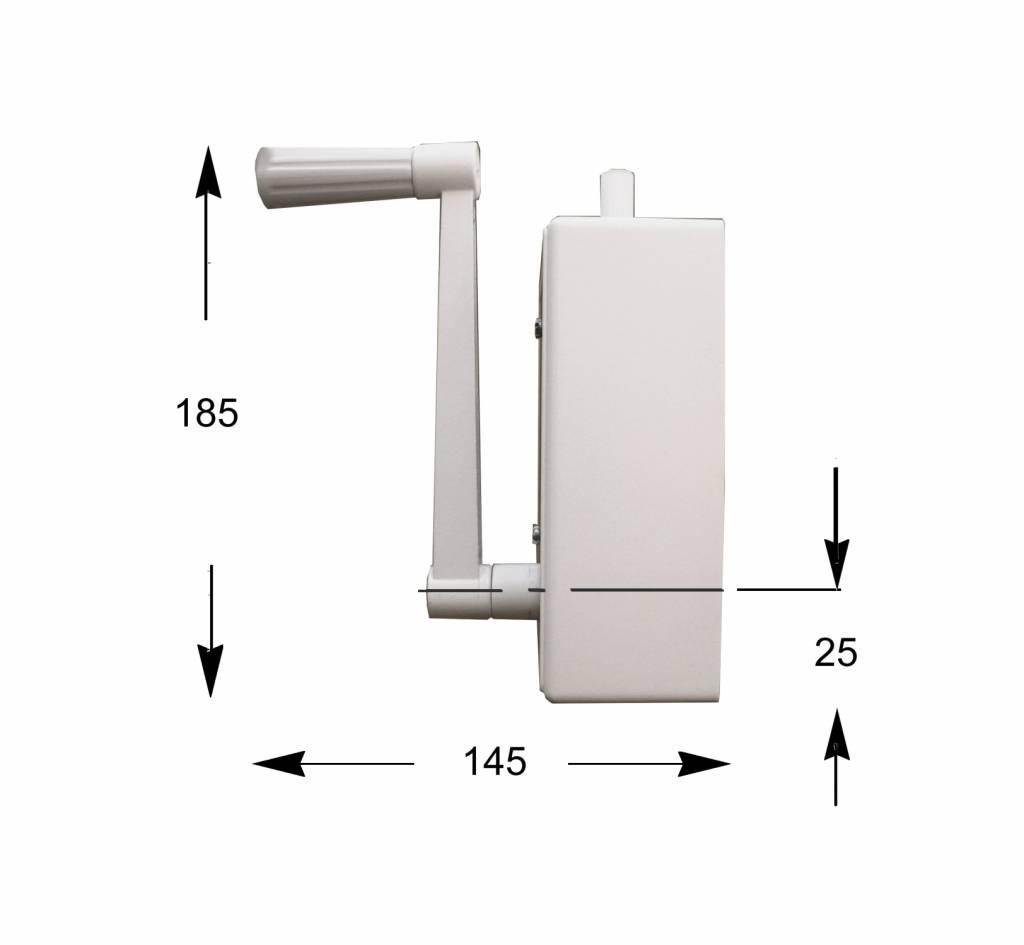 Staaldraadwindwerk 80 kg