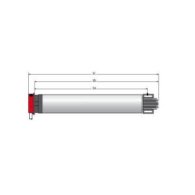 Simu T3.5 Hz 02 buismotor voor screens en rolluiken