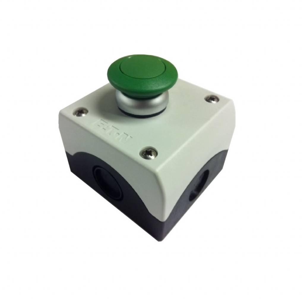 Aeton Opbouw drukknop schakelaar paddestoel groen