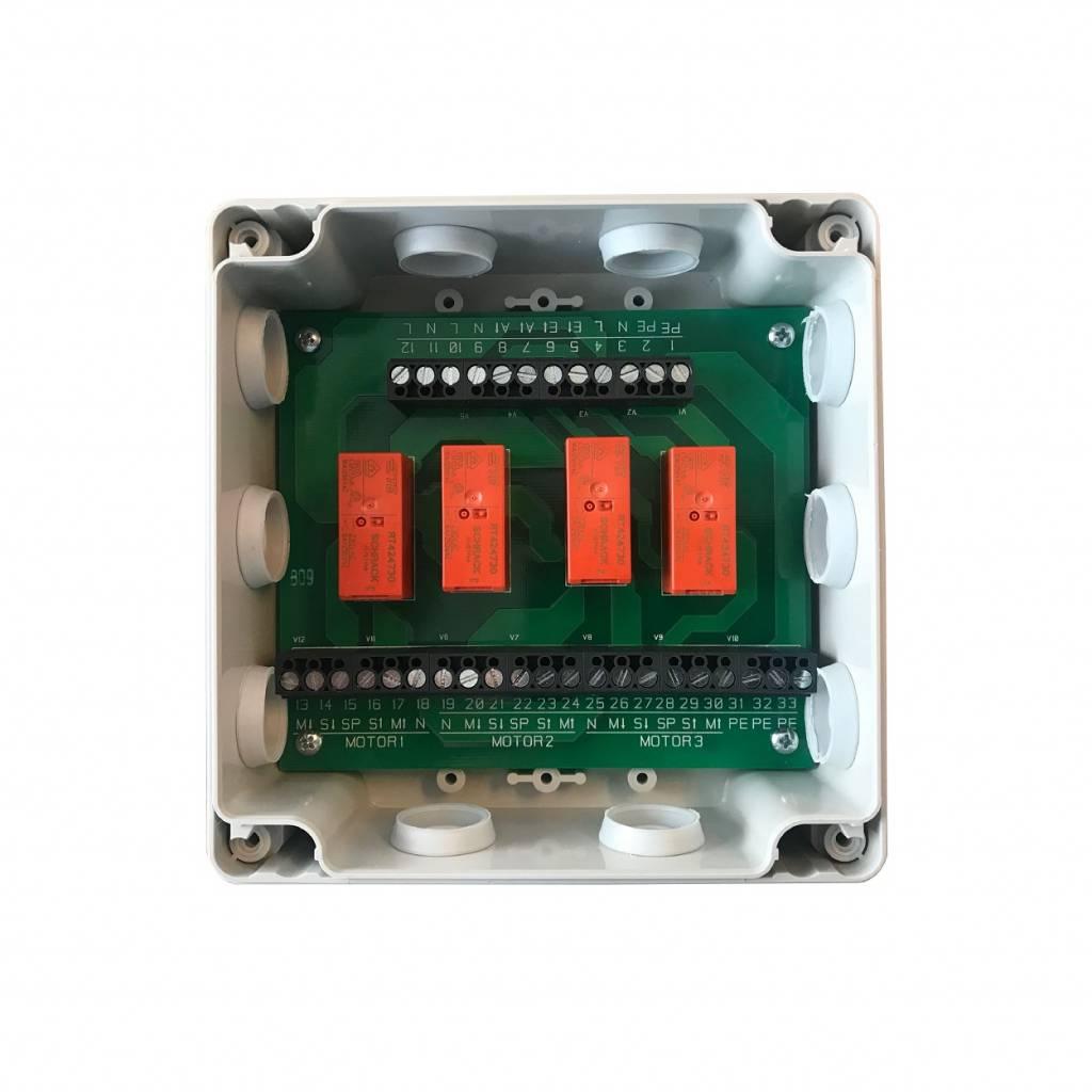 Tedsen RB3 relaiskast - 230 Volt