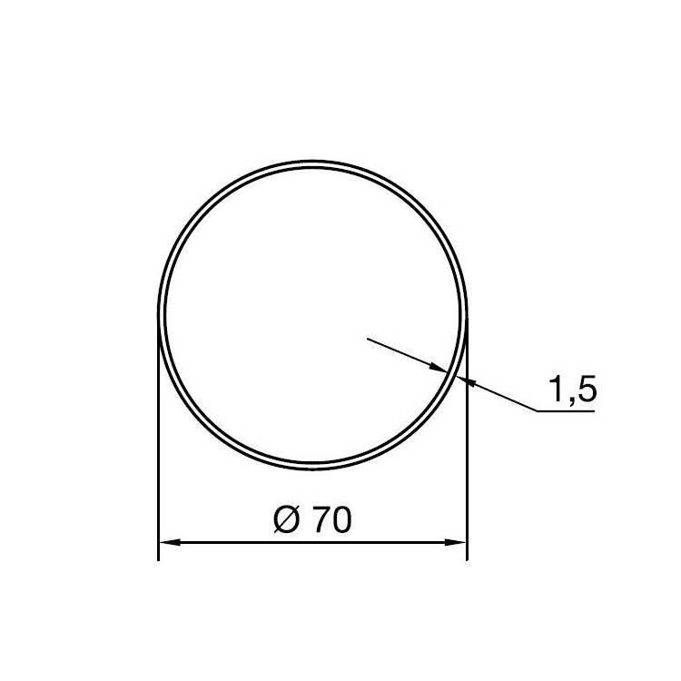 Nice Adaptieset M - Ø 70 mm