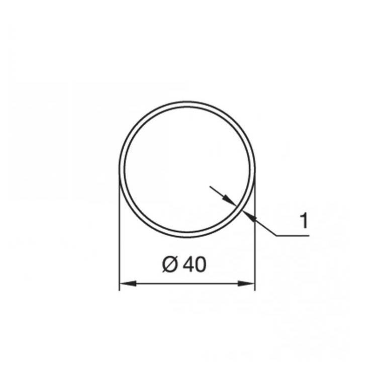 Nice Adaptieset S - Ø 40x1,5 mm