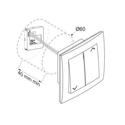 Simu Micro zender HZ tbv buismotor