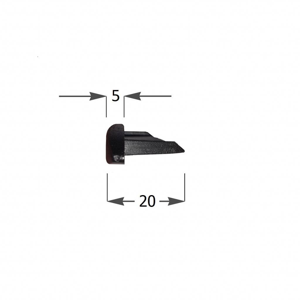 Alutech Kunststof arreteerkapje voor AR52